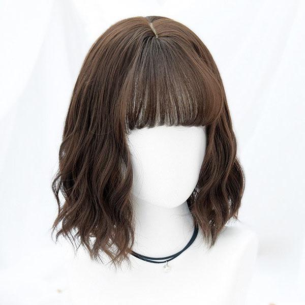 前髪 パッツン ショート ヘア