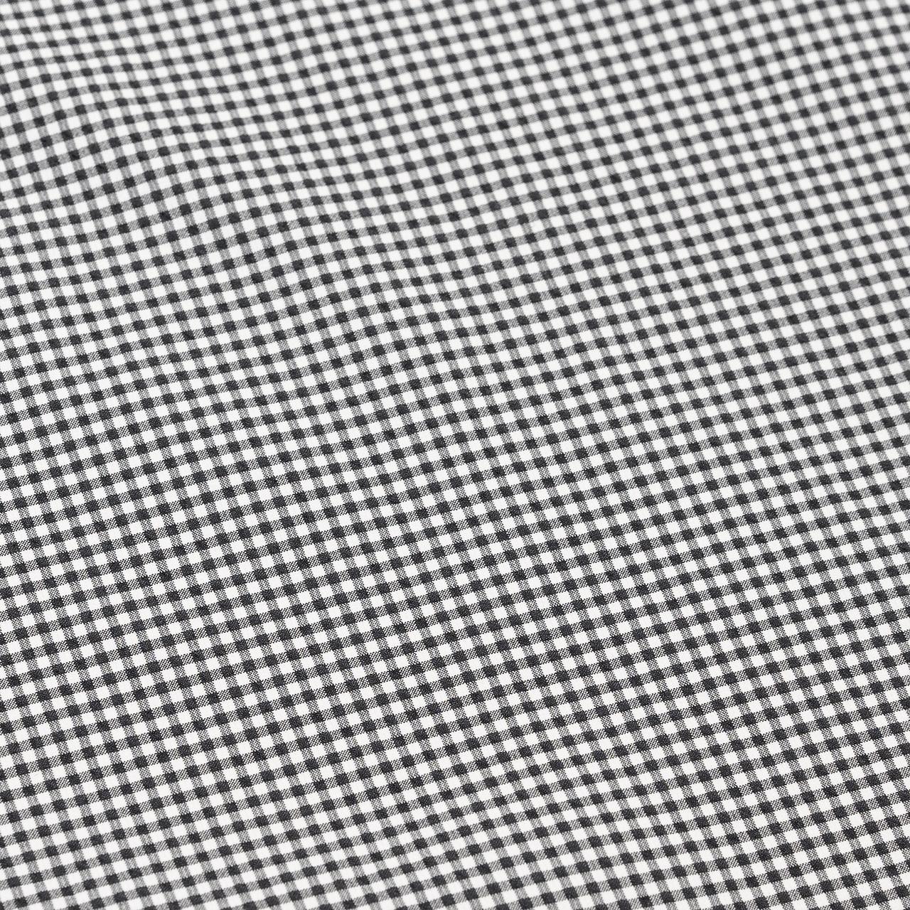 White × Black Check