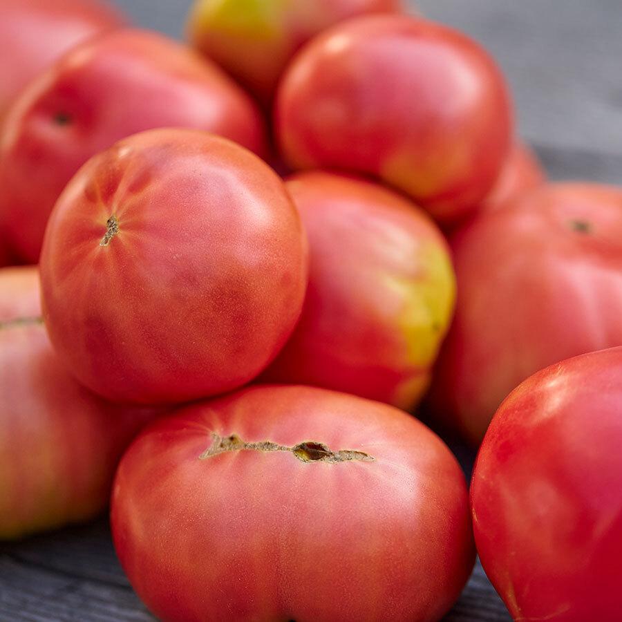 農協と同じ選果基準を満たした、最上の南郷トマトだけをピックアップして製品に。