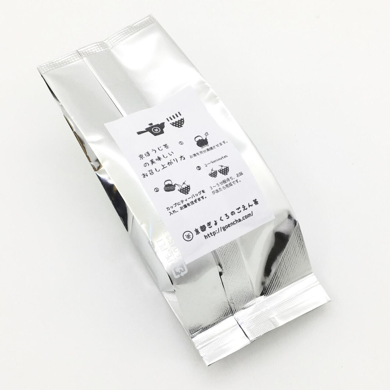 中にはほうじ茶ティーバッグ5包が入っています。