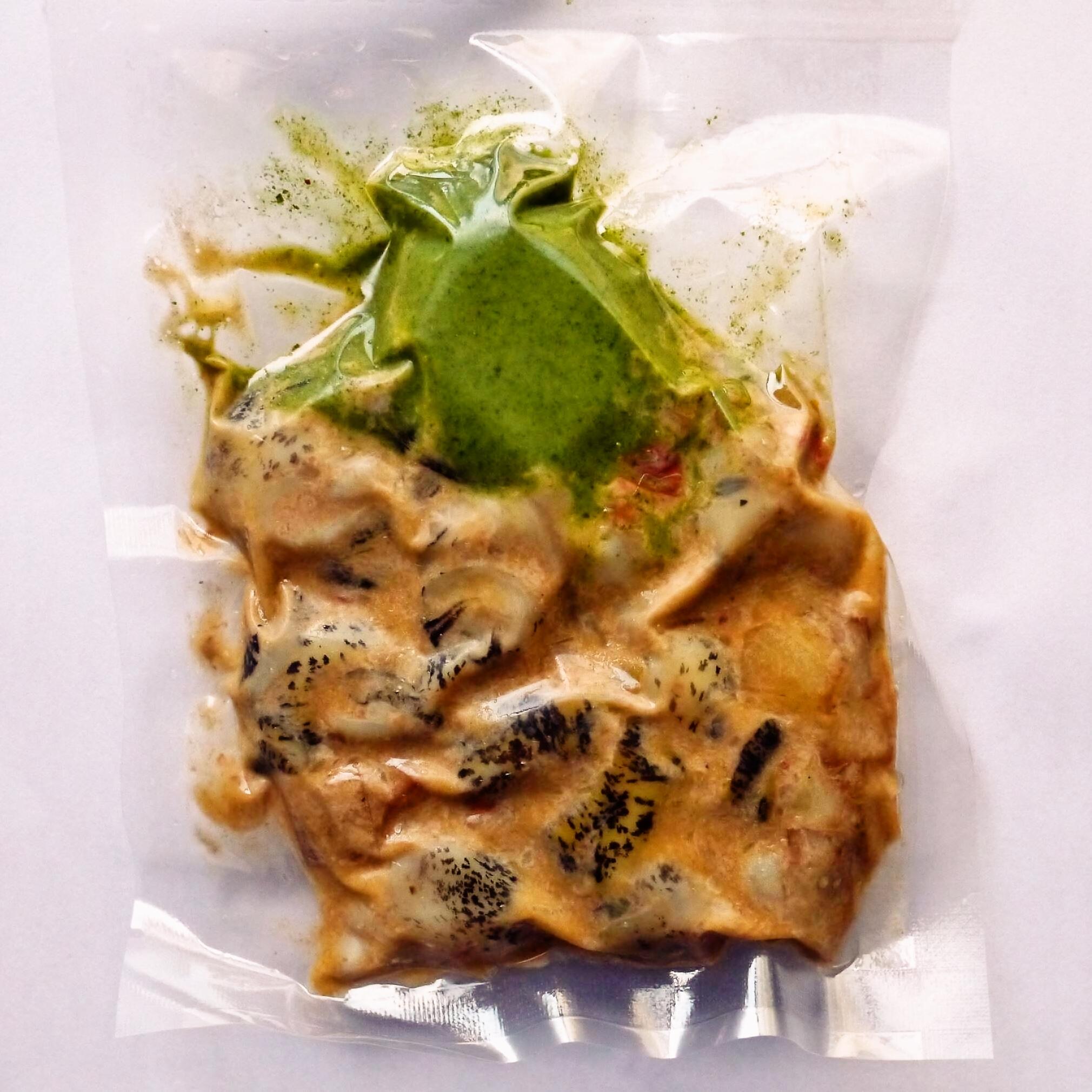 ツブ貝のブルゴーニュ風軽い煮込み