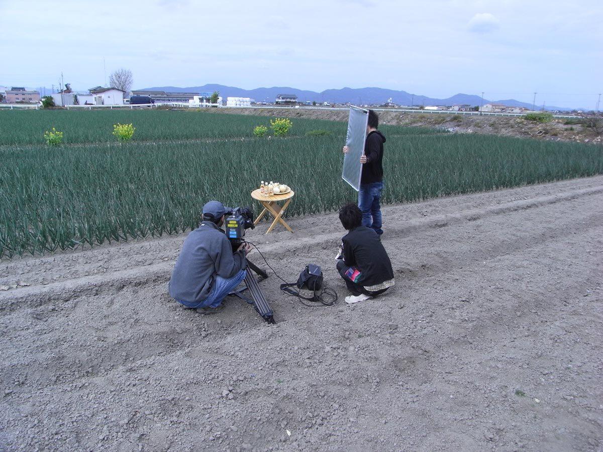 満点☆青空レストラン前日たまねぎ酢撮影