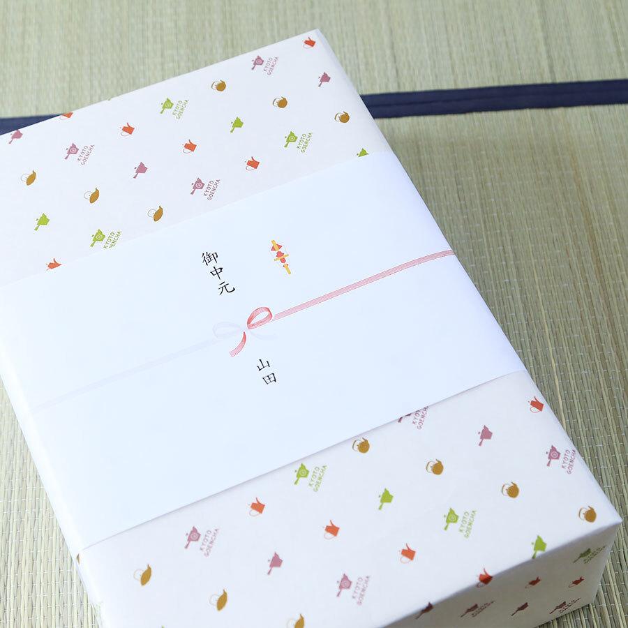 包装紙と熨斗紙をご用意しています。