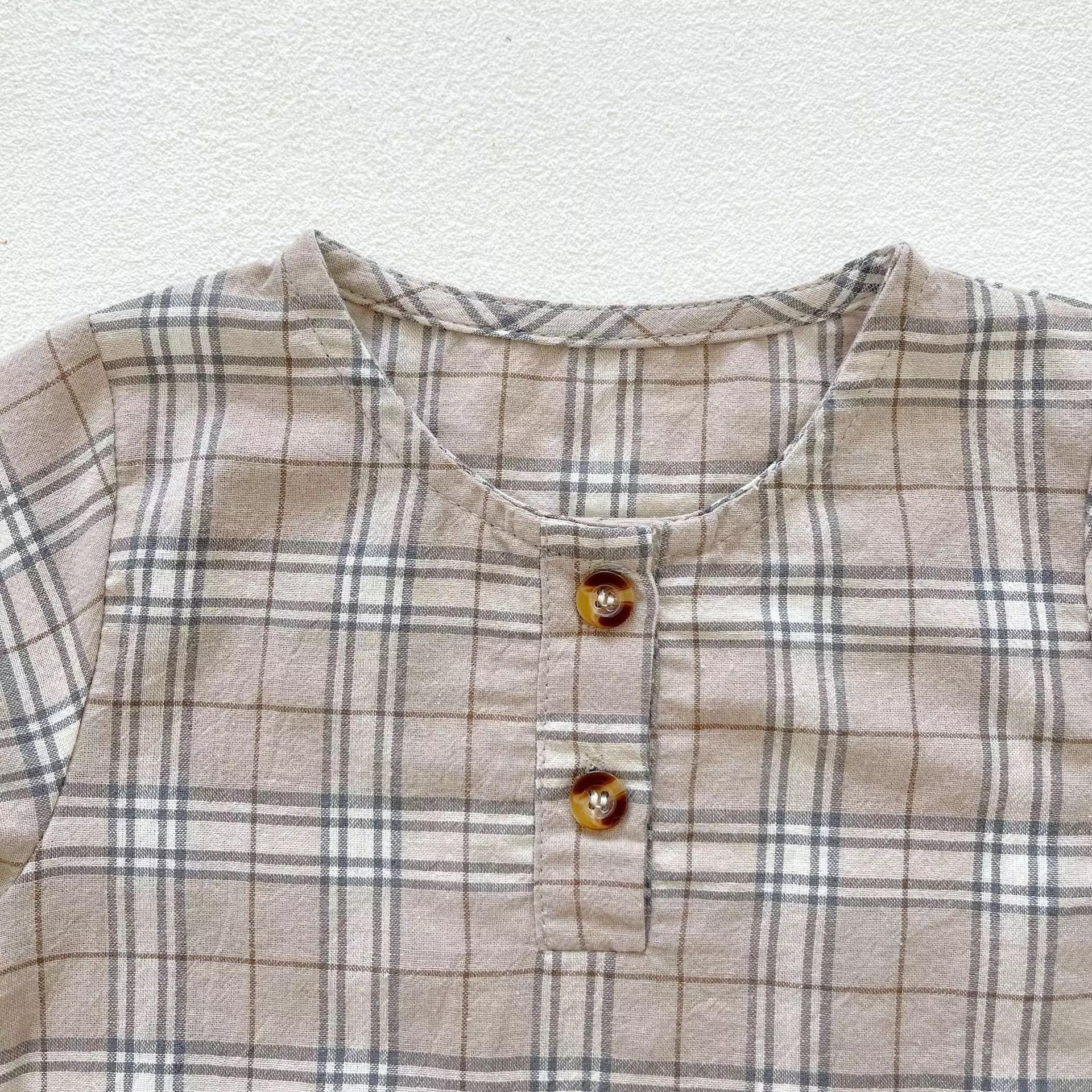 ナチュラルベビーシャツ