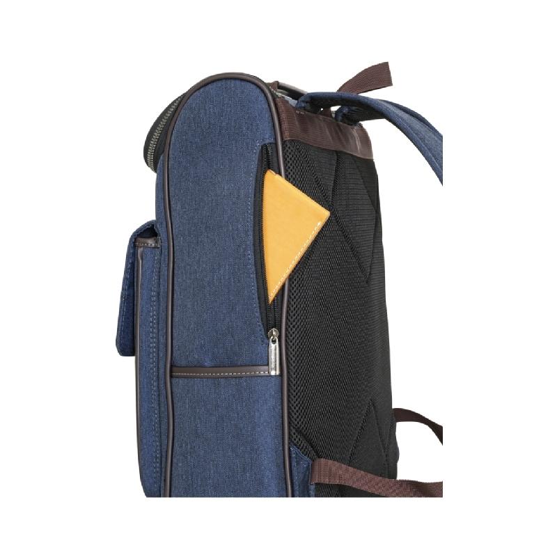 携帯電話、パスケースなど取り出しに便利なサイドファスナーポケット