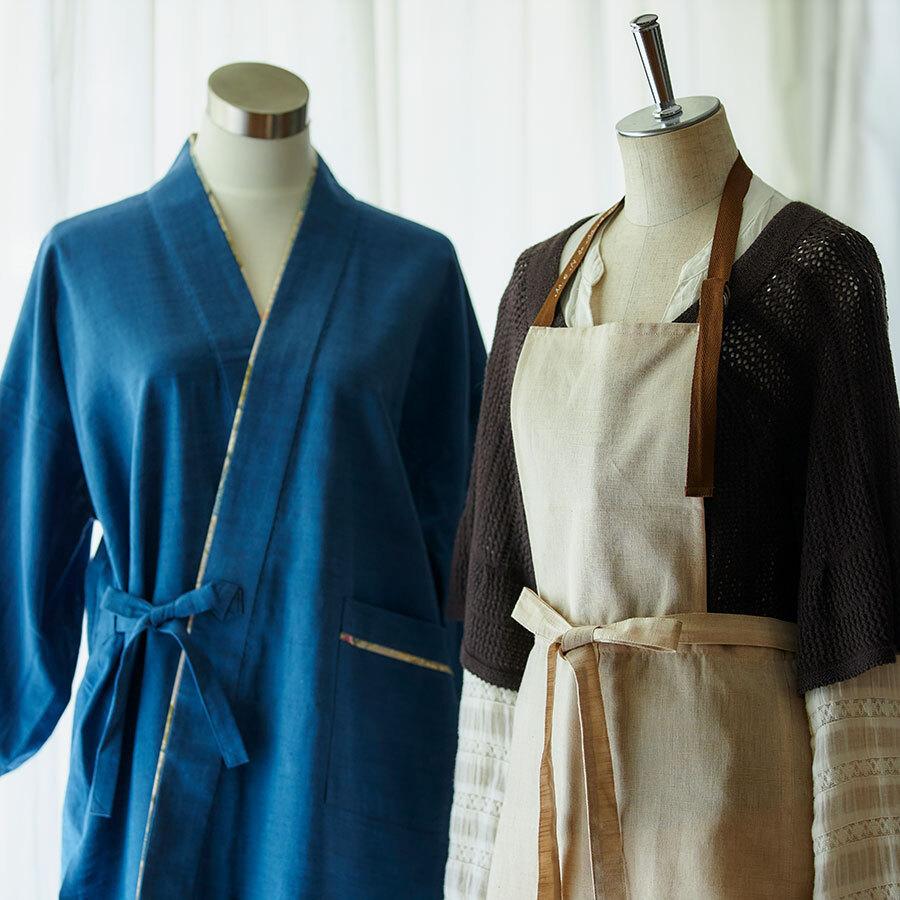 脱ぎ着のしやすい衣類や、テキスタイルアートを施したバッグなどが新作でお目見え。