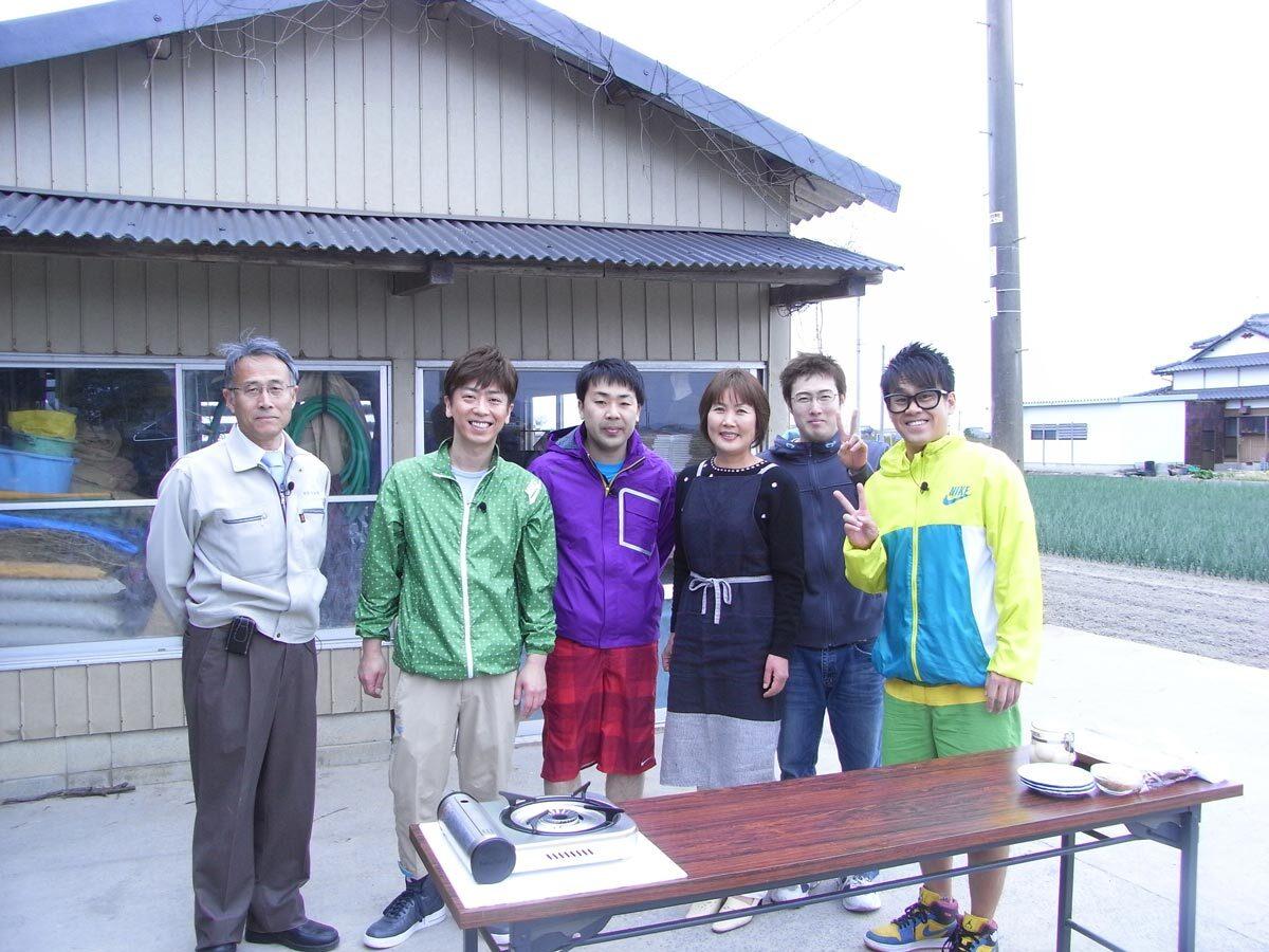 満点☆青空レストラン撮影休憩中