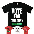 VOTE FOR CHILDREN(T-SHIRT) ブラック