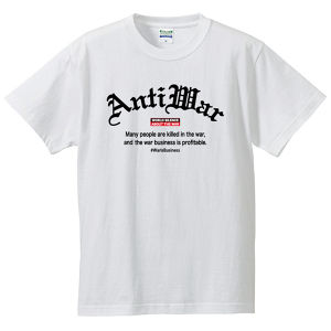 ANTI-WAR : Old English【FULL COLOR / T-SHIRT】