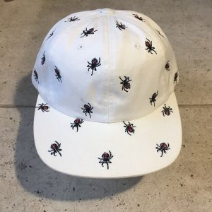 SUPREME Embroidered Spiders 6-Panel キャップ