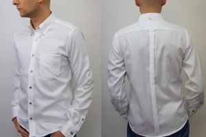 ネバートラスト Non-Iron Oxford L/S BD Shirt