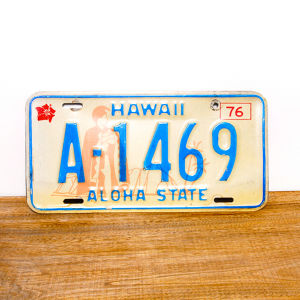 Hawaii license plates / 1976 / A-1469