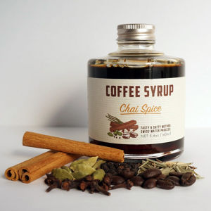 COFFEE SYRUP / chai spice