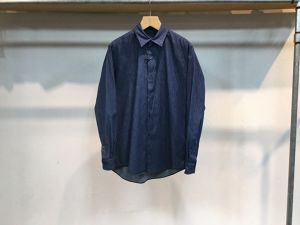 "semoh""Regular Collar Denim Shirt Light"""