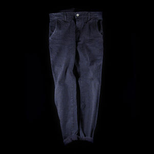 REPEATING INDIGO TAPERED PANTS