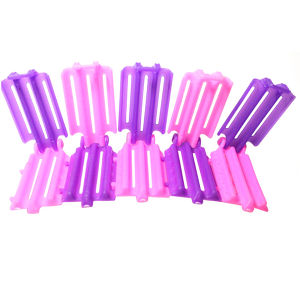 45pcs Hairdressing Styling Wave Perm Rod Corn Hair Clip Curler  Maker DIY Tool For Women's Beauty