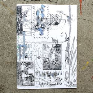 Leon Sadler/Fountain Drawings zine