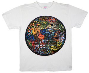KOTA MIYAMOTO  Collage T-shirt『蛇 × 月』