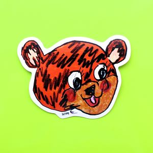 Rob Kidney / 3 sticker set (TITTY BEAR)