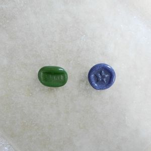森谷和輝 stamp brooch(S)