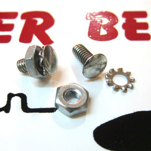 Rivet Screws & nuts for Schwinn fender