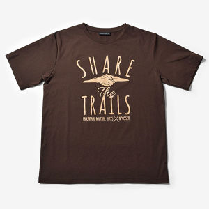 MMA SHARE the TRAILS Tee v2(Brown)