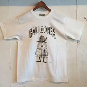 BALLOONER TEE OFF White/Dark Green ★再入荷★