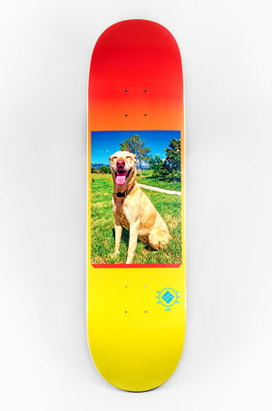 "Science skateboards  ""Stoked Dog"" - Chris Morgan."