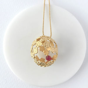 cocoon(Pendant/Ruby)