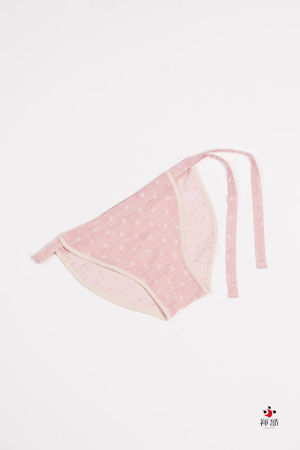 Lady's ORGANIC COTTON ( dotted-pink )