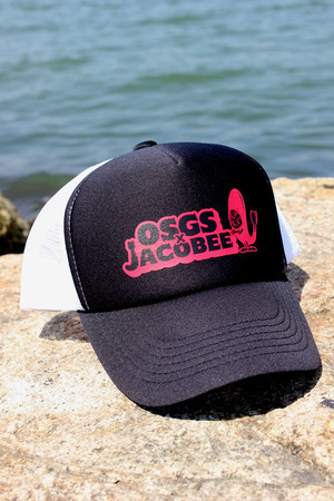 「JACOBEE×OSGS CAP」 Black×Red×White