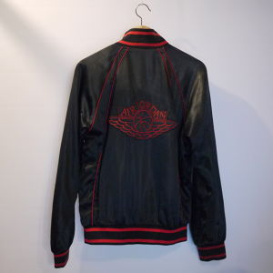 "NIKE 1980's Satin jacket SizeS ""JORDAN"""