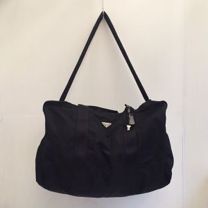 PRADA big size nylon boston bag