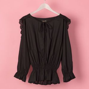 FRILL COLLOR BLOUSE(VN1707001)