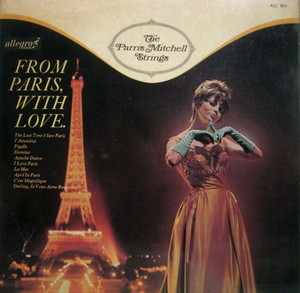 The Parris Mitchell Strings / From Paris, With Love (LP)