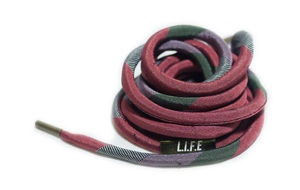 "Shoelace belt ""KMN"""