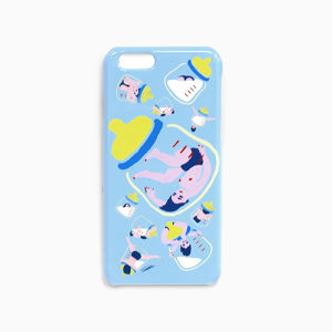 《milk!milk!milk! iPhone6 case》高品質_ShiShi Yamazaki