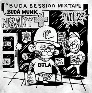 【再入荷/CD】BudaMunk - Buda Session MIXTAPE Vol.2