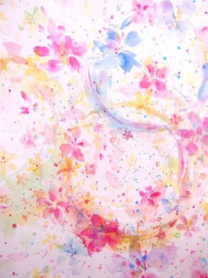 ◯ To... The NEW WORLD { 水彩画 ART }