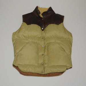 ROCKY MOUNTAIN 1970's DownVest