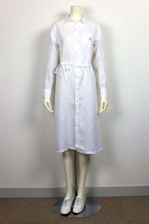 East London One-piece Canclini Linen 品番:871504 col.10 White