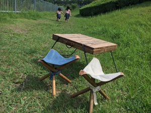 Outdoor Table&Hunting Chair set