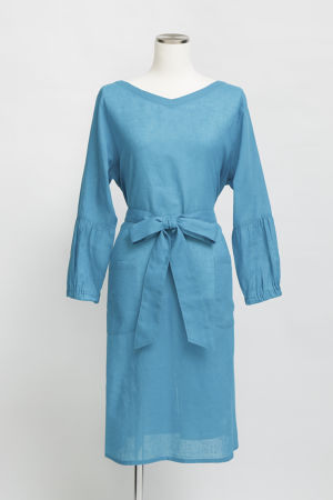 KAREN-COTTON&LINEN-/BlueGreen(TT1917-42)