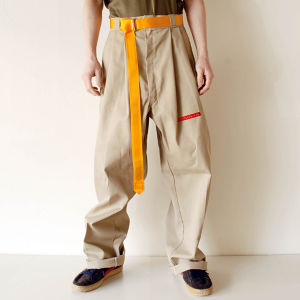 """on Mark,Sue going"" W58 Customized Dickies Beige"