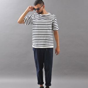 Kelen / ケレン | 【 SALE!! 30%OFF 】 BIG TEE - FAKE LAYERD BORDER CUT & SEWN  'HAYES'
