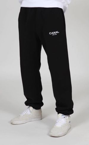 CANAL PREMIUM SWEAT PANT BLACK サイズM