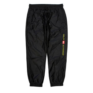 NOLAN  WARM UP PANTS  BLACK