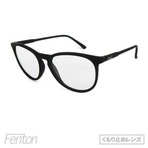 "サングラス「DANG SHADES」""FENTON"" SOFT TOUCH BLACK x CLEAR Anti-Fog 【くもり止めレンズ】"