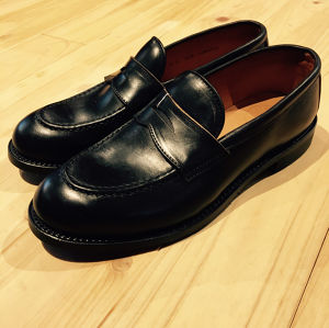 "WHEEL ROBE(ウィールローブ)""HEAVY STITCHING PENNY LOAFER(15079)"""
