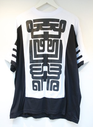 KTZ STRIPE T-SHIRT ストライプ Tシャツ / BLACK 60%OFF